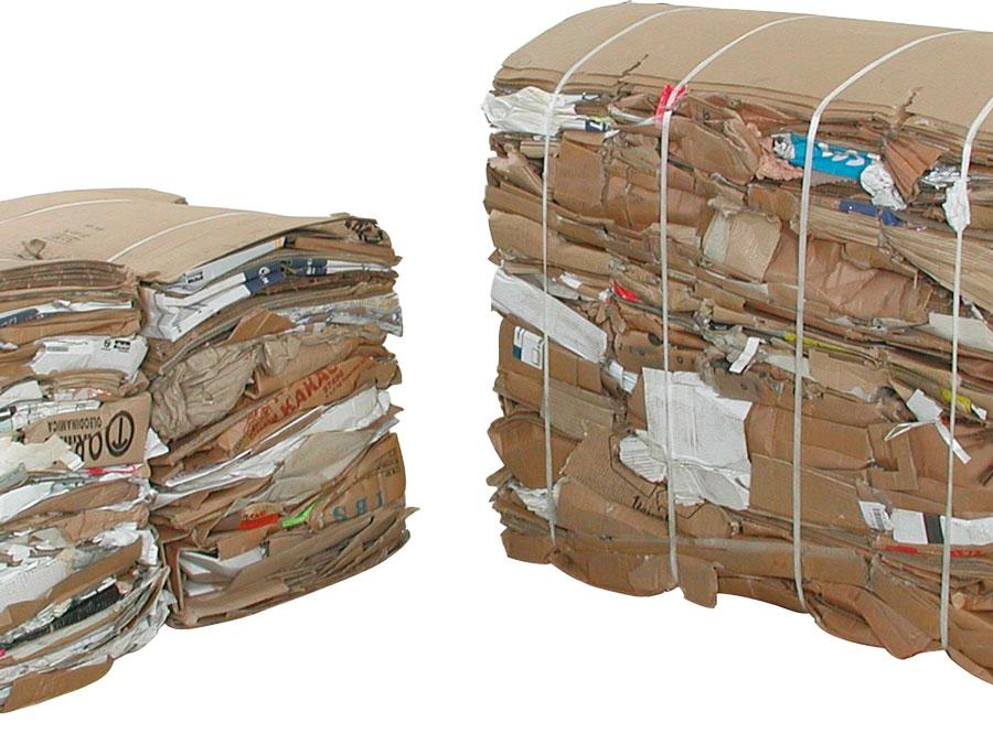 Nous rachetons les cartons & plastiques souples en balles suivant quantité