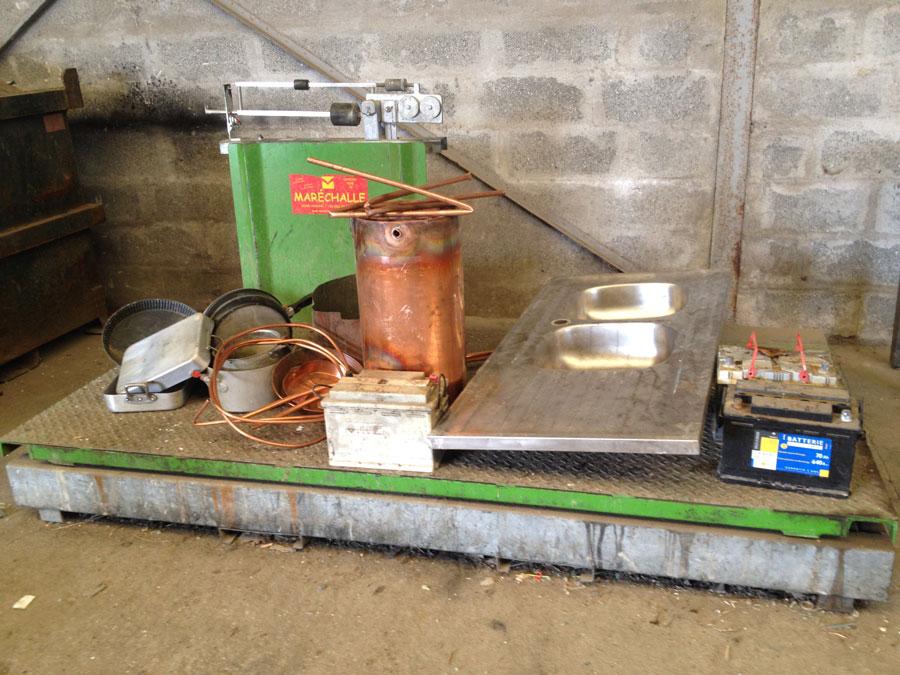 Nous collectons, recyclons et valorisons les métaux ferreux et non ferreux